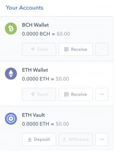 ethereum wallet coinbase